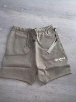 FOG - Fear Of God Essentials Olive Sweat Shorts (FW20) Men's Size Large New