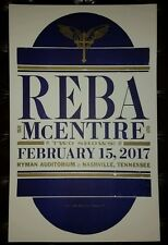 Reba McEntire Ryman Hatch Show Print Nashville 2017 Tour Poster Limited Sold Out