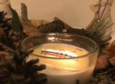 5 x Wooden Grid Candle Wick For Candle Making Including Sustainers.