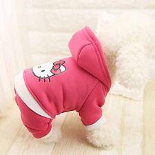Hundepullover Hundejacke Hundepulli Hunde Welpen Kleidung pink Gr. S