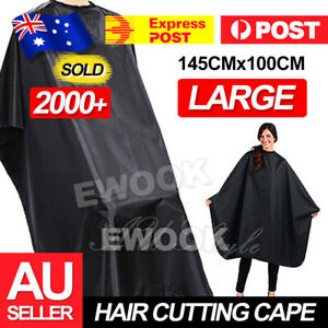 Pro Salon Hair Cutting Cape Barber Hairdressing Haircut Cut Apron Cloth Salon AU