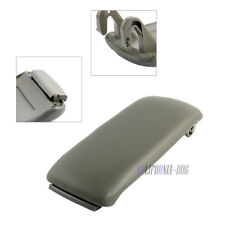 Center Console Leather Grey Armrest Cover Lid for Audi A4 S4 A6 C5 2000-2006