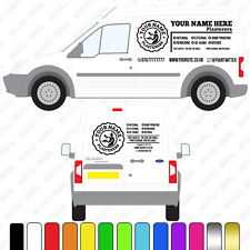 Plasterers Van Sign, Small/Medium Van Custom Vinyl Decal, Plasterers Van Signage