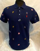 Polo Ralph Lauren for Men small Pony Custom Fit Color Indigo - Free shipping