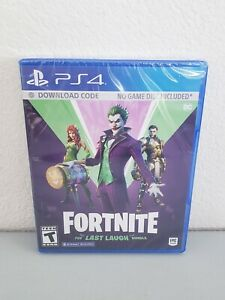 Fortnite: The Last Laugh Bundle (Sony PlayStation 4) No Disc Version New