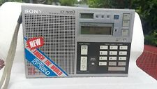 EUC RARE Sony Compturized World-Band Receiver ICF -7600D RADIO 100%TESTED WORKS!