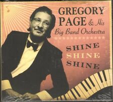 GREGORY PAGE Shine Shine Shine CD NEW SEALED His Big Band Orchestra 11 track