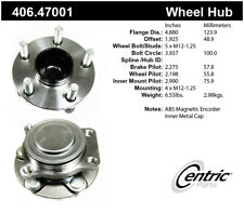 Wheel Bearing and Hub Assembly fits 2017-2019 Toyota 86  CENTRIC PARTS