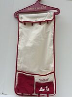 American Girl Hanging Organizer Off White & Red Retired Closet Caddy