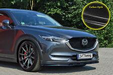CUP Diffusor Seiten Ansatz SET SCHWARZ für Mazda 6 VI MK3 GJ Wagon Flap Heck