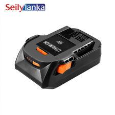 For RIDGID 18A 2000mAh Li-ion power tool battery R840084 AC840084 130383025
