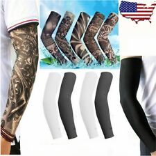 5 Pairs (10 Pcs) Cooling Arm Sleeves Cover Basketball Sport UV Sun Protection US