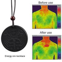 Powerful Scalar Bio Energy Quantum Pendant Magnetic Health Power Chain Necklace