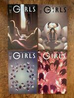 GIRLS (2007) #21 22 23 24; 4 COMIC RUN! MATURE READERS! IMAGE!