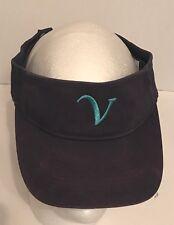 Augusta Sportswear Visor Cap BC Style V Adjustable Blue Golf Hat Live, Softball