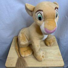 """Disney The Lion King Jumbo Nala 17"""" Plush Stuffed Animal New With Tags"""