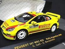 PEUGEOT 307 WRC #25 Argentinia Rallye WM 2006 Galli Pirelli IXO SP 1:43