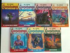 Rl Stine Goosebumps Original Series 7 Book Lot Vol. 20 21 24 25 26 27 29 1st Ed