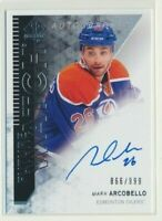 2013-14 SP Authentic Future Watch Rookie AUTO 285 Mark Arcobello /999 Oilers