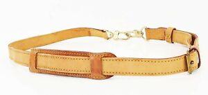 Authentic LOUIS VUITTON Leather Keepall Shoulder Strap #37744B