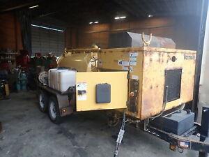 2012 Vermeer V500LE-LTHD Vacuum Excavator Vac Trailer RUNS EXC. DIESEL!