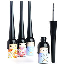 Fashion Make Up Cosmetic Japanese Doll BLACK Waterproof Liquid Eyeliner Pen