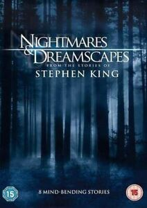 NIGHTMARES AND DREAMSCAPES Stephen King (Region 4) DVD 8 Stories