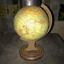 Chad Valley Rotating Tin Globe no.10028