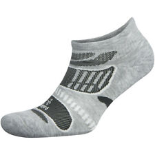 Balega Ultra Light No Show Running Socks - Gray/White