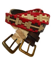 ''Pilar'' 100% Argentine Cow Leather Polo Belt