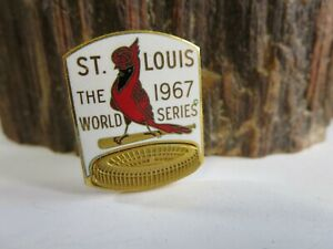 1967 St Louis Cardinals World Series Press Pin - Balfour RP4