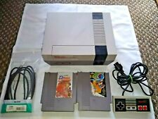 Nintendo NES ~ Video Game Console Set ~ UKV PAL VERSION - tested & working