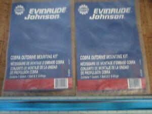 *NEW OEM* (LOT OF 2) 0700P23 OMC Johnson Mounting Kit 508105