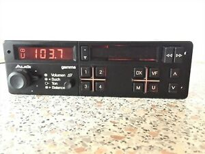 Audi Gamma 1 by Grundig Vintage Car Radio with Cassette