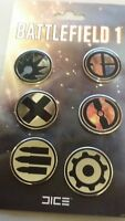 Battlefield one 1 Frontline Pack pin set