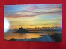 Vintage Original St. Michael's Mount, Cornwall, England Uncirculated Postcard