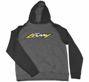 Youth Suzuki Army Hoody Factory Effex L Charcoal/Black22-88434