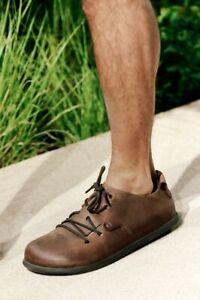 Birkenstock Montana Cuoio Braun Fettleder Schnürschuh Größe 38-46 Weite normal