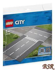 LEGO® 60236 GERADE & T-KREUZUNG / Straßenplatten 32x32 ! NEU & OVP !