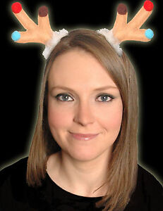 Christmas Clip On Reindeer Antlers CHEAP CLEARANCE SALE