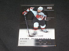 JIRI BICEK DEVILS STAR GENUINE AUTHENTIC LIMITED EDITION HOCKEY CARD /1500