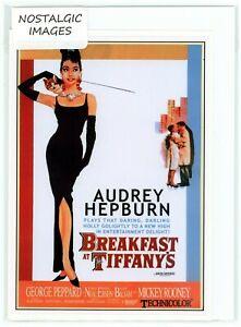 "Nostalgic 1961 Audrey Hepburn ""Breakfast at Tiffany's""  blank greeting card."