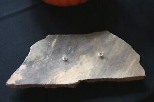 """ROCK OIL CANDLE  SANDSTONE DOUBLE FLAME  SIZE 11"""" X 5"""""""