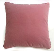 Mb58a Dusty Pink Plain Flat Velvet Style Cushion Cover/Pillow Case *Custom Size*
