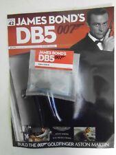 JAMES BOND 007 - ASTON MARTIN DB5 1:8 SCALE BUILD GOLDFINGER PART 42