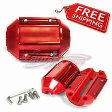 Magnetic Magnet Module POWER Gas Fuel PERFORMANCE Saver UNIVERSAL Red for FORD