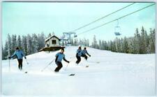 KIMBERLEY, BRITISH COLUMBIA Canada  SKIERS North Star Mountain  Postcard