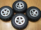 1/10 Traxxas 2wd Raptor Slash Kumho Tires & 12mm Black Split Spoke Wheels