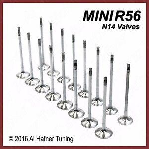 Mini Cooper R56 N14 Intake and Exhaust Valve set 11347587470, 11347547187