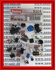KEMO S104 Microschalter & Microtaster Sortiment